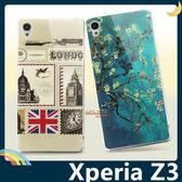 SONY Xperia Z3 D6653 彩繪半透保護套 軟殼 英倫歐風 潮牌 超薄全包款 矽膠套 手機套 手機殼