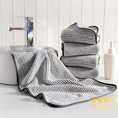 竹碳纖維浴巾家用洗澡毛巾套裝不掉毛裹胸浴巾【輕奢時代】