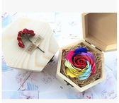 婦女節創意生日禮物送老師女友老婆浪漫肥皂花禮品玫瑰香皂花禮盒(主圖款)