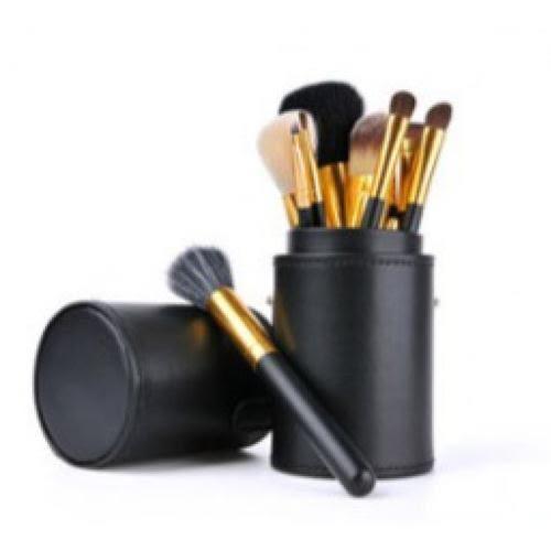 大號刷具筒 化妝刷收納筒 刷具收納包 化妝品收納 圓筒 防塵 不易變形 質感 大容量