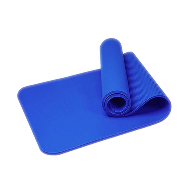 [7-11限今日299免運]瑜珈墊 健身墊 運動墊 防滑墊 舞蹈墊 厚度10mm 長180✿mina百貨✿【TPS012】