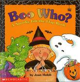【幼兒萬聖節翻翻書】BOO WHO? A SPOOKY LIFT-THE-FLAP BOOK / 精裝翻翻書