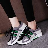 韓版時尚運動鞋戶外休閒鞋跑步鞋平底慢跑鞋女鞋