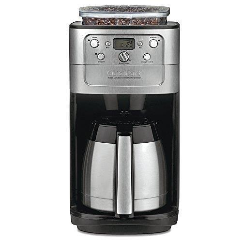 【美國代購】Cuisinart DGB-900BC Grind&Brew Thermal 12杯自動咖啡機