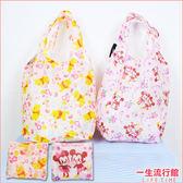 【限量】迪士尼 櫻花米奇米妮 櫻花維尼小豬 正版 環保購物袋 側背袋 提袋 B15686