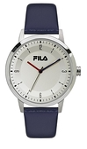 【FILA 斐樂】經典簡約LOGO設計錶-帥氣藍/38-153-004/台灣總代理公司貨享兩年保固