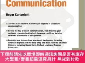 二手書博民逛書店預訂Communication罕見- Leading 08.08Y492923 Roger Cartwrigh