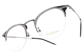 PAUL HUEMAN 光學眼鏡 PHF5106A C05 (銀-黑) 復古簡約微貓眼款 # 金橘眼鏡