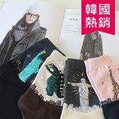 韓國 熱銷 美式風格 就是不一樣 中筒襪酷斯拉 耶穌 艾菲爾鐵塔 自由女神 襪子