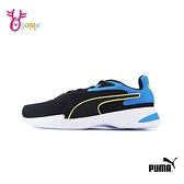PUMA童鞋 男童運動鞋 記憶鞋墊 跑步鞋 慢跑鞋 AC PS K9526#黑藍◆OSOME奧森鞋業