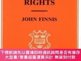 二手書博民逛書店Natural罕見Law And Natural Rights (clarendon Law Series)Y