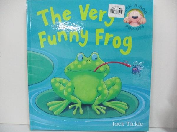 【書寶二手書T8/少年童書_KCM】The Very Funny Frog_Jack Tickle