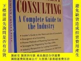 二手書博民逛書店Management罕見Consulting:a complet