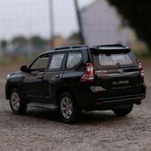霸道普拉多原廠汽車模型仿真越野車車模SUV玩具車