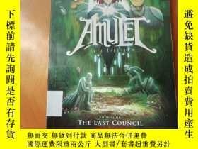 二手書博民逛書店英文原版罕見Amulet 4: The Last Council by Kazu KibuishiY27391
