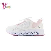 FILA運動鞋 女鞋 輕量跑鞋 跑步鞋 慢跑鞋 透氣網布 CITY JOGGER D9983#白粉◆OSOME奧森鞋業