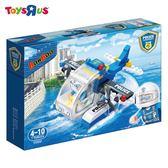玩具反斗城 BANBAO 警察系列-警用水陸飛機