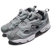 Reebok Insta Pump Fury OG 灰 白 充氣 透氣網布鞋面 基本款 運動鞋 男鞋【PUMP306】 V65751