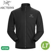 【ARC TERYX 始祖鳥 男 Atom LT 化纖外套《黑》】24109/防潑水/輕薄夾克/防風/可壓縮