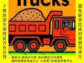 二手書博民逛書店Trucks卡車-Byron罕見BartonY13398 Byron Barton(拜倫·巴頓) 著;Byr