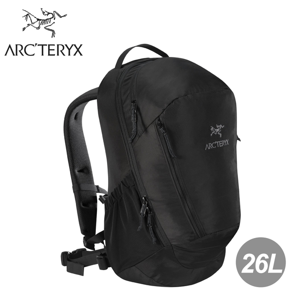 【ARC'TERYX 始祖鳥 MANTIS 26L 多功能背包《黑》】7715/後背包/筆電包/登山休閒包