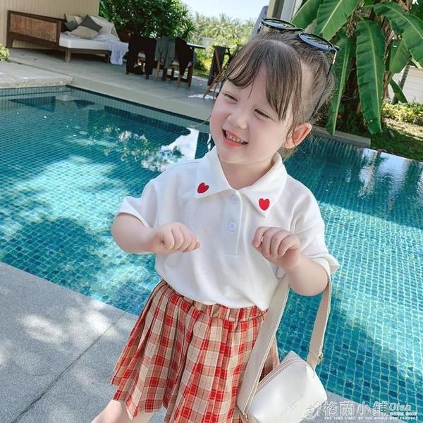 小布丁童裝新款兒童夏季白襯衫寶寶學院風襯衣女童洋氣上衣薄 喜迎新春 全館5折起