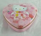 【震撼精品百貨】Hello Kitty 凱蒂貓~心型置物鐵盒『玫瑰』