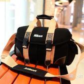 時尚休閒專業加厚單肩攝影包尼康單反相機包d810 d610 d7100 7200