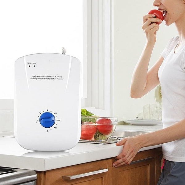 110V現貨 多功能果蔬凈化器 活氧機 臭氧機 瓜果蔬菜機 空氣器 快速出貨