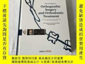 二手書博民逛書店英文原版书罕見Orthognathic Surgery and Orthodontic Treatment (正颌