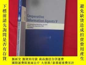 二手書博民逛書店Cooperative罕見Information Agents
