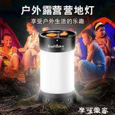 Supfire神火T1多功能帶磁鐵戶外帳篷燈露營燈USB可充電馬燈工作燈 摩可美家