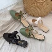 半拖鞋 包頭半拖鞋女外穿2020新款夏季時尚百搭拖鞋子網紅溫柔仙女鞋涼拖 風尚3C