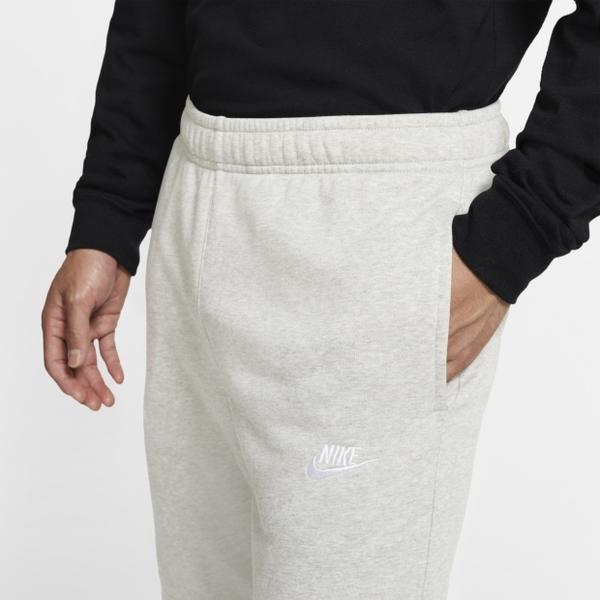 【現貨】NIKE SPORTSWEAR 男裝 長褲 棉褲 棉質 針織 休閒 訓練 縮口 刺繡 灰【運動世界】BV2680-063