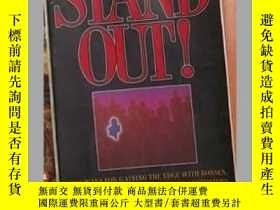 二手書博民逛書店英文原版罕見Stand Out ! by Andrew J. D