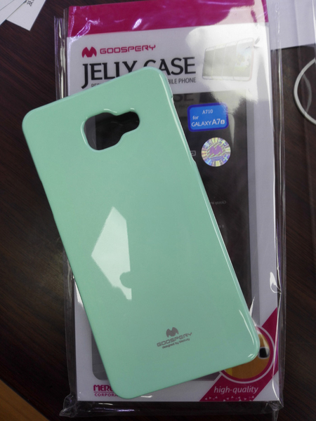 King*Shop~韓國Goospery三星Galaxy A7 A7100手機殼2016版保護套閃粉矽膠軟殼套