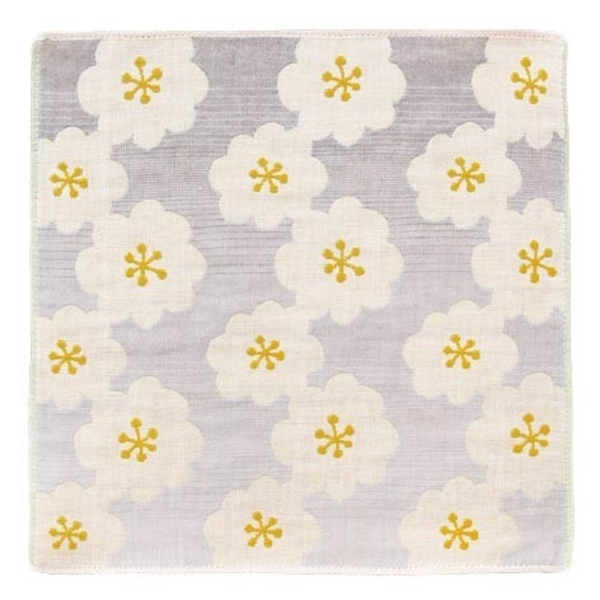 【日本製】【Pocchi】今治毛巾 Imabari Towel 三層紗布 手帕 daisy SD-2173 - 日本製