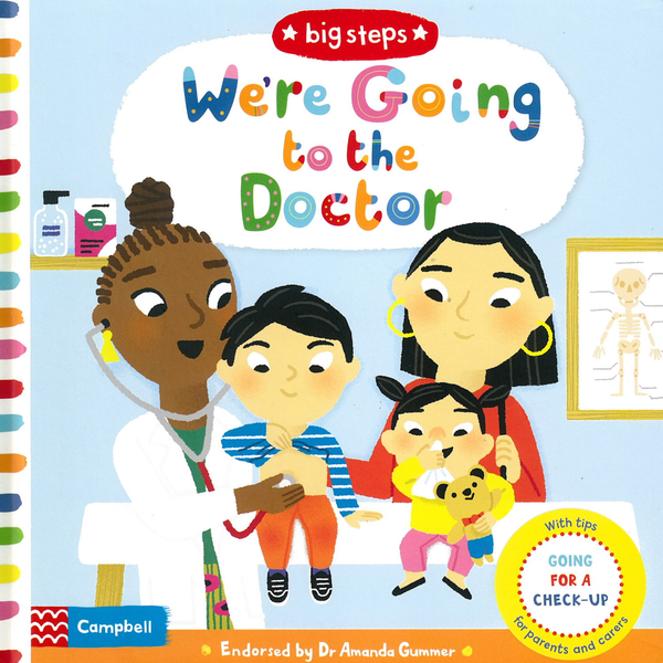 Big Steps:We're Going To The Doctor 生活練習:看醫生操作書