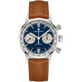 Hamilton漢米爾頓Intra-Matic熊貓復古計時手錶 H38416541