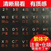 繁體注音鍵盤貼香港倉頡鍵盤貼字母保護貼紙透明磨砂焦糖布丁