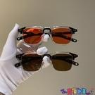 太陽眼鏡 復古韓版新款太陽小方框米釘墨鏡女潮個性眼鏡男圓臉歐美網紅同款寶貝計畫 上新