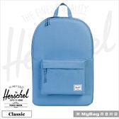 Herschel 後背包 鼠尾草藍 經典後背包 Classic-1334 MyBag得意時袋