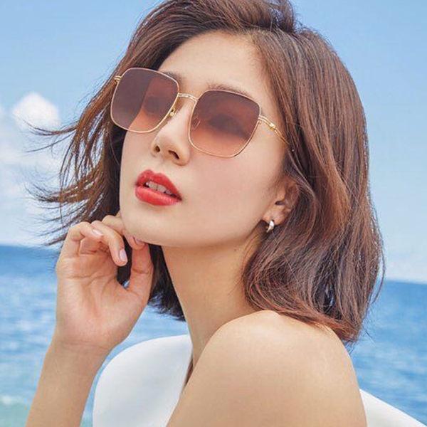 LASH 墨鏡 ANGUS (金) 方框 韓國 太陽眼鏡 久必大眼鏡