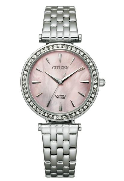 30mm【分期0利率】 星辰錶 CITIZEN 石英錶 白蝶貝面板 全新原廠公司貨 ER0210-55Y