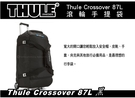   MyRack   Thule Crossover 87L 滾輪手提袋-黑  滾輪行李袋 旅行袋
