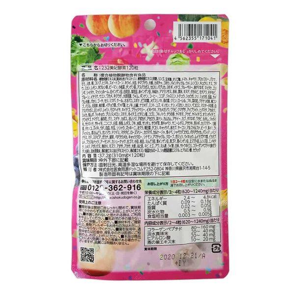 日本 醫食同源 ISDG 232種野菜蔬果酵素 120粒/包◆德瑞健康家◆