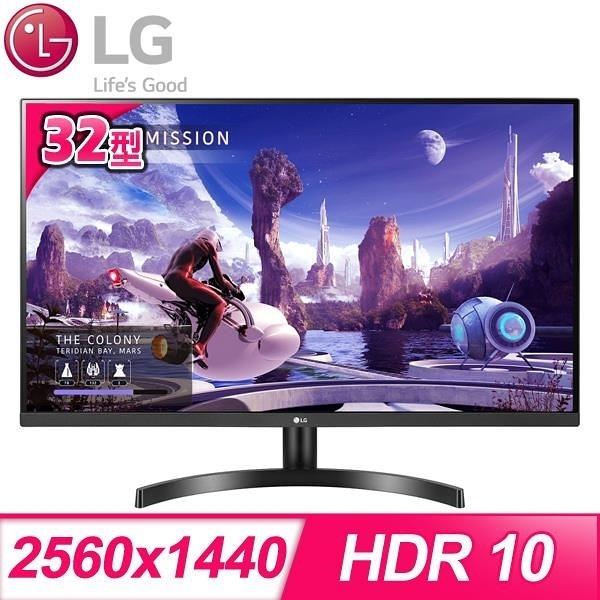 【南紡購物中心】LG 樂金 32QN600-B 32型 QHD 2K高解析 IPS 護眼電競螢幕
