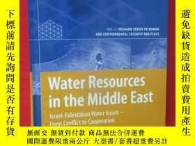 二手書博民逛書店Water罕見Resources in the Middle E