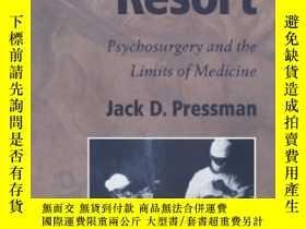 二手書博民逛書店Last罕見Resort: Psychosurgery And