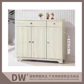 【多瓦娜】19058-504003 日式和風雪杉白4尺高鞋櫃(B301)